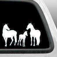 Horse Family Decal Sticker Foal Vinyl Decals Car Window Cup Car Decals Vinyl Family Car Decals Family Decals