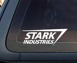 Stark Industries Iron Man Avengers Marvel Car Decal Sticker Ebay