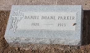 Daniel Duane Parker (1928-1973) - Find A Grave Memorial