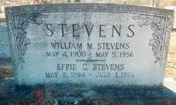Effie Caldwell Stevens (1894-1974) - Find A Grave Memorial