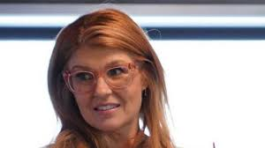 Eyeglasses pink Warby Parker of Abby Clark (Connie Britton) in a 9-1-1  (S01E06) | Spotern