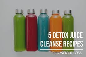 detox juice cleanse recipes
