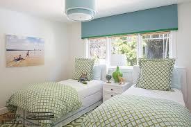 green ribbon trim bedding design ideas