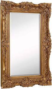 large ornate gold baroque frame mirror