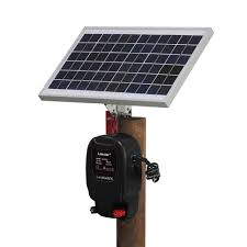 Solar Powered Kit Electric Fence Energizer Charger High Voltage Pulse Controller Animal Poultry Farm Shepherd Sensor Detector Aliexpress