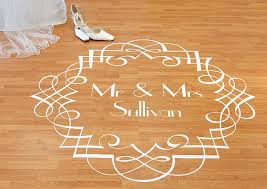 Winner Aimee Yates Wins A Bespoke Dance Floor Decal From Off The Wall Decals A Real Bride S Guide