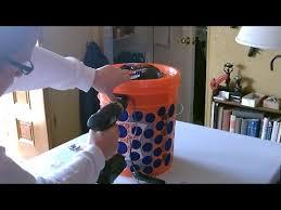 diy air filter the 5 gallon bucket