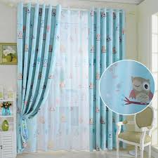 2020 Newest Pattern Bird Kids Cartoon Curtains For Bedroom Living Room Window Curtain Shade Cloth Curtains Home Textile Kid Room From Yueji 23 98 Dhgate Com