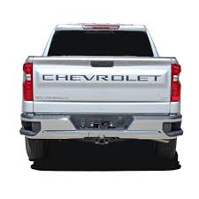 2019 2020 Chevy Silverado Tailgate Letters Name Insert Decals 3m Vinyl Graphics Kit
