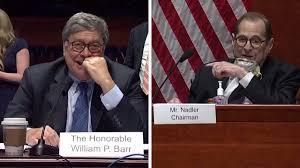 AG Barr to Rep. Nadler ...