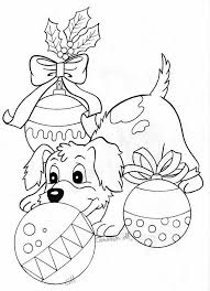 Christmas Coloring Pages Puppies 2020 In 2020 Kleurplaten