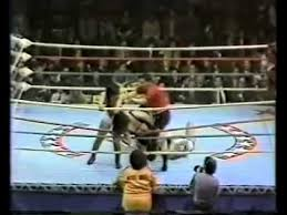 Jackie West hurt by a piledriver - YouTube