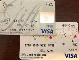 use multiple visa gift cards