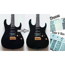 Binding Sticker Abalone Blue Tar House Guitar