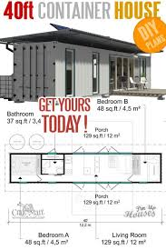 40ft container house floor