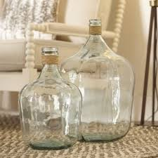 large glass vases in decors