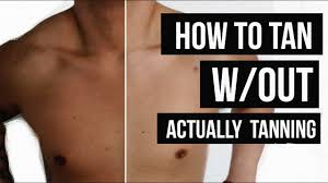 without actually tanning jairwoo