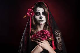 wallpaper dia de los muertos skull