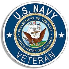 Amazon Com Round U S Navy Veteran Sticker Naval Bumper Vet Seaman Sailor Arts Crafts Sewing