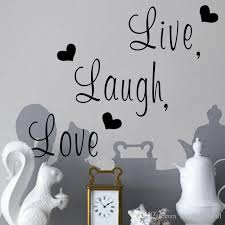 Live Laugh Love Wall Quote Decal Sticker English Words Home Decor English Proverb Wall Applique Living Room Wall Art Mural Poster Wall Stickers Kids Wall Stickers Large From Magicforwall 1 15 Dhgate Com