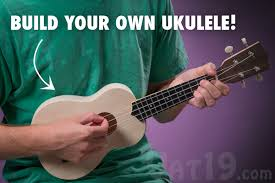 ukulele kit build your own diy ukulele