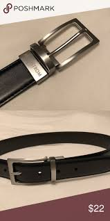 black and brown boys leather belt