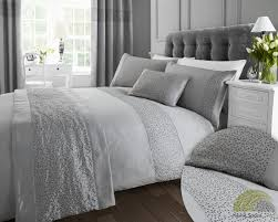 silver bed linen sets home decorating