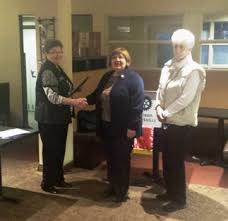 Rotary Club inducts new member - Wendy Adams | Rotary Club of ...