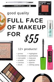 est full face of makeup only 55