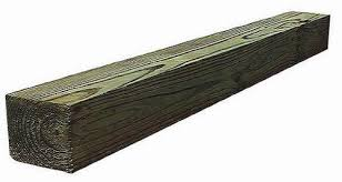 Ac2 4 X 4 2 Ground Contact Green Pressure Treated Timber At Menards