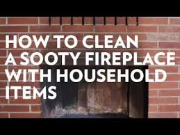 how to clean your fireplace using 2