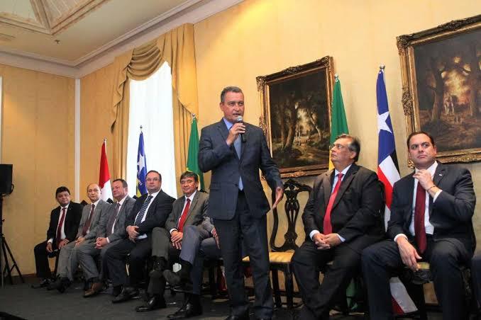 Resultado de imagem para Rui Costa com os governadores do Nordeste