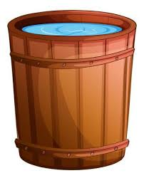Water Barrel Stock Vector Illustration And Royalty Free Water ...