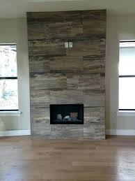 wood tile fireplace ideas porcelain