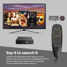 4GB RAM 64GB ROM Android 9.0 Smart TV Box, 2.4GHz + 5GHz WiFi, 2019 Lastest Magicsee  N5 NOVA OTT TV Box with Voice Remote Air Mouse, Support 4K 3D: Amazon.ca:  Electronics