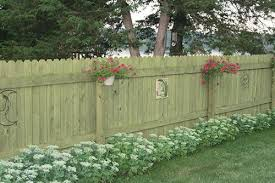 6 H X 8 W Dog Eared Ac2 Treated Fence Panel At Menards Dog Ear Fence Fence Panels Outdoor Lawn