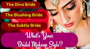 what type of bridal makeup look is
