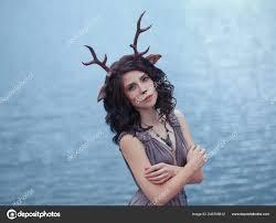 interesting photo of mother deer in