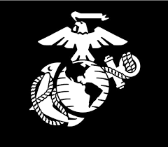 Amazon Com Vinyldecalking Marine Corps Ega 8 X7 75 Inches White Car Truck Decal Home Kitchen