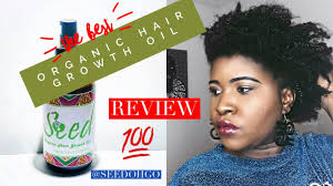 organique natural hair growth oil seed