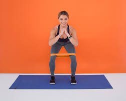 a resistance band workout you can