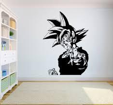 Dragon Ball Wall Vinyl Decal Son Goku An Buy Online In Cape Verde At Desertcart