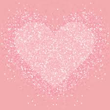 Pastel pink glitter heart . Shimmer love background. - Download ...