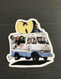 Wu Tang Clan Sticker For Sale Online Ebay