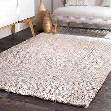 ivory chunky caspar area rug 5x8