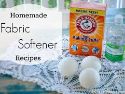8 homemade fabric softener recipes