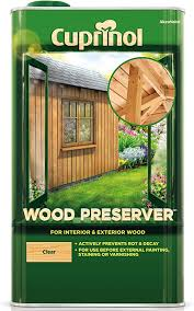 Cuprinol 5l Wood Preserver Clear Amazon Co Uk Diy Tools