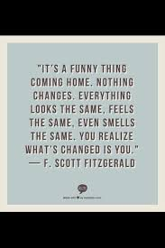 coming home after a long summer vacation fitzgerald quotes