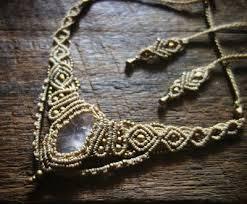 macrame jewelry tutorial