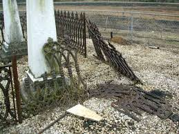 Cemetery Ironwork Cemetery Fencing Cemetery Preservation Chicora Foundation